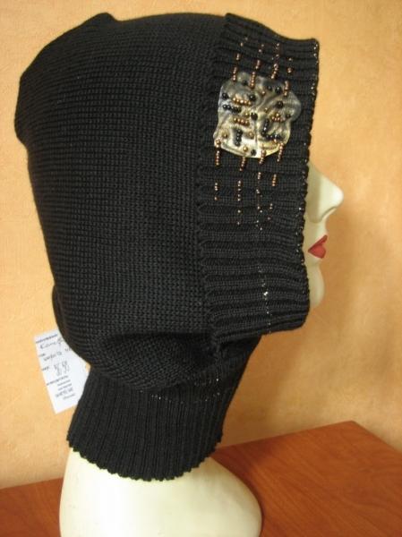Описание: Гардероб Вязание крючком: Капор - шарф.