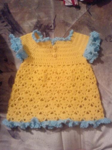 Автор:Admin.  Описание: детские платья крючком со схемами.