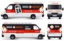 """следующая работа.  Маршрутное такси в Виннице оформление рекламой """"Окна Морион """",г. Винница. по дате. все клиенты)."""
