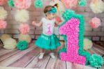 Декоративные объемные цифры на день рождения. Форум мам.