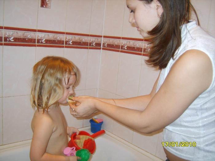 с сестрой в ванне рассказ