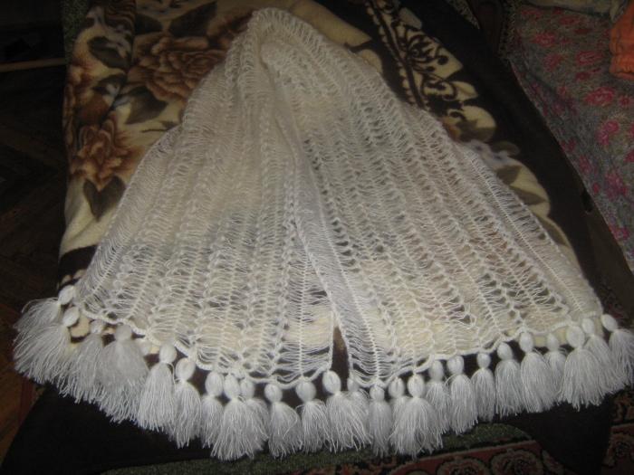 схемы вязание крючком платки