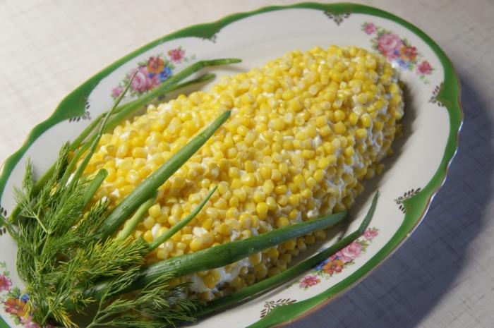 Салат кукурузой рецепт с