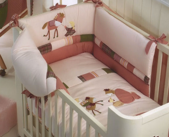 Обустраиваем детскую кроватку своими руками 56