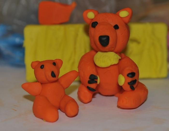 Как сделать медведя для детей 462